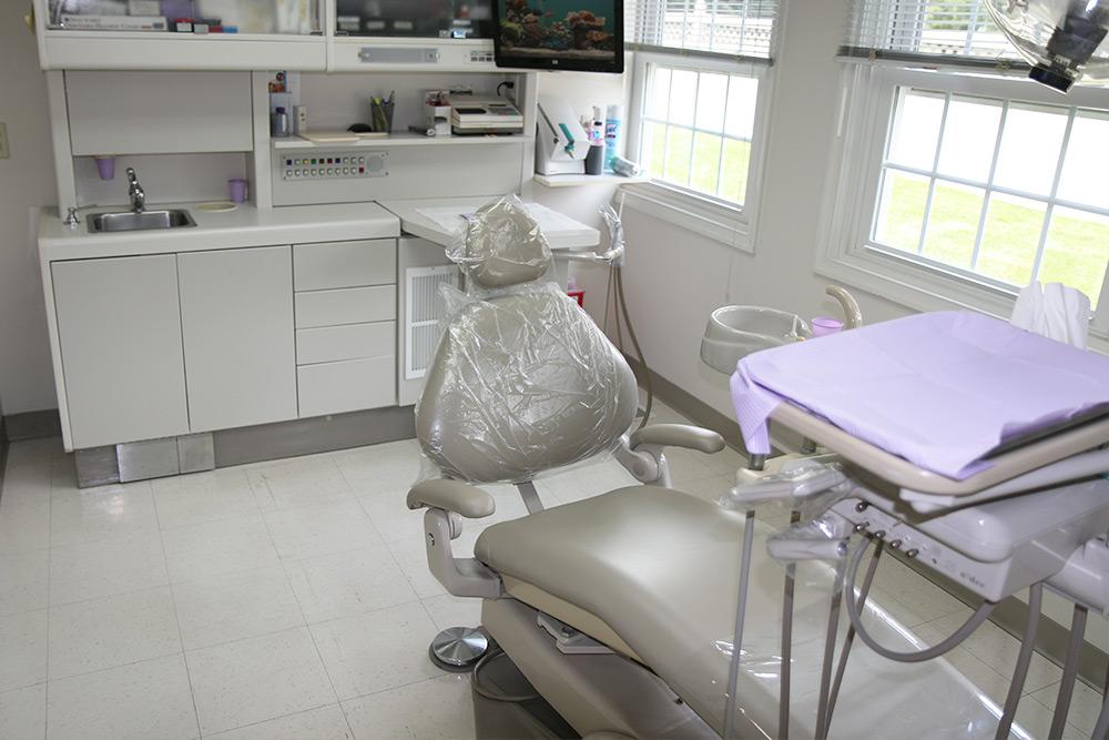 dental procedure room in wayne pa