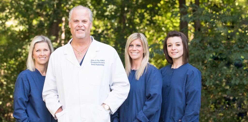 dr james vito and dental staff wayne pa
